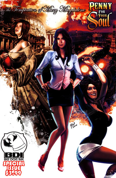 Cover for Temptation of Mary Magdalene (Big Dog Ink, 2011 series)  [Cover B]