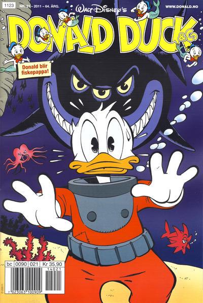 Cover for Donald Duck & Co (Hjemmet / Egmont, 1948 series) #21/2011