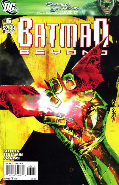 Cover for Batman Beyond (DC, 2011 series) #6