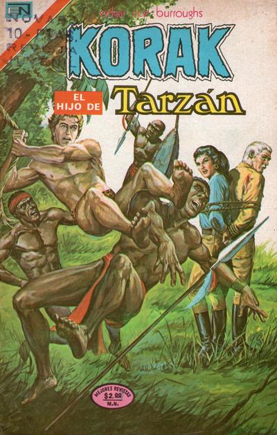 Cover for Korak (Editorial Novaro, 1972 series) #32