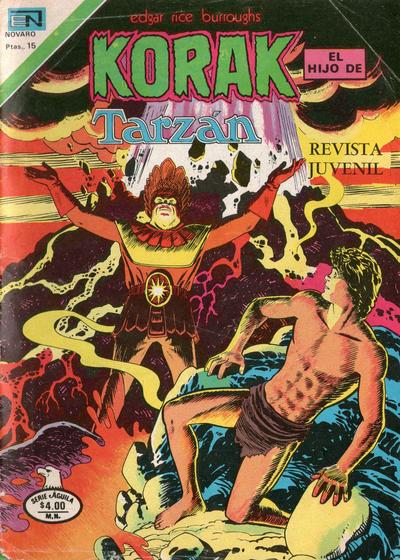 Cover for Korak (Editorial Novaro, 1972 series) #68