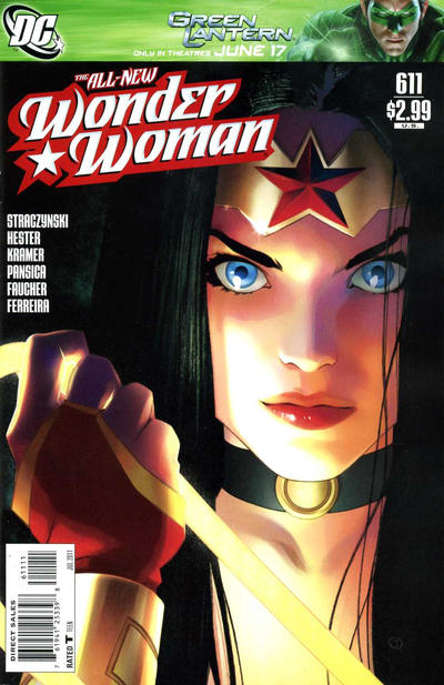 Cover for Wonder Woman (DC, 2006 series) #611