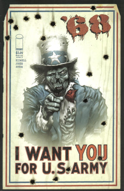 Cover for '68 (Image, 2006 series)  [Zombie Uncle Sam]
