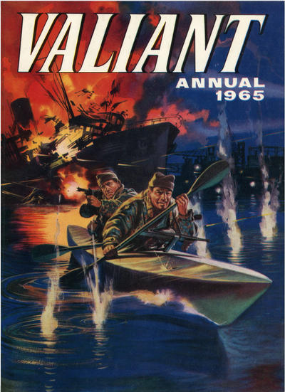 Cover for Valiant Annual (IPC, 1963 series) #1965