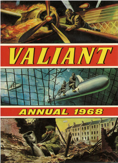 Cover for Valiant Annual (IPC, 1963 series) #1968