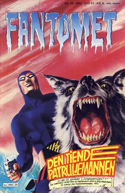 Cover for Fantomet (Semic, 1976 series) #26/1982