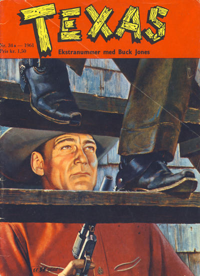 Cover for Texas Ekstranummer (Serieforlaget / Se-Bladene / Stabenfeldt, 1959 series) #34a/1961