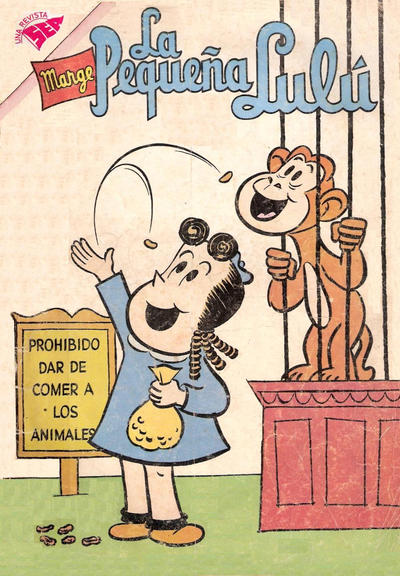 Cover for La Pequeña Lulú (Editorial Novaro, 1951 series) #183