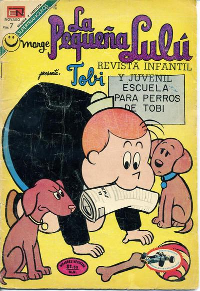 Cover for La Pequeña Lulú (Editorial Novaro, 1951 series) #344