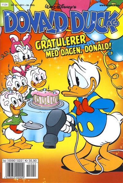 Cover for Donald Duck & Co (Hjemmet / Egmont, 1948 series) #22/2011