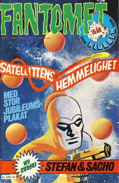 Cover for Fantomet (Semic, 1976 series) #1/1983
