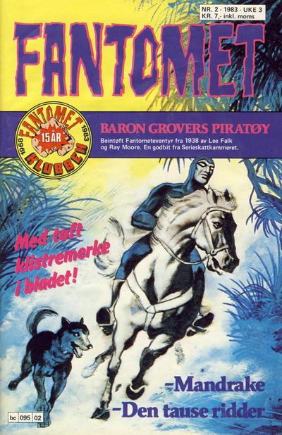 Cover for Fantomet (Semic, 1976 series) #2/1983