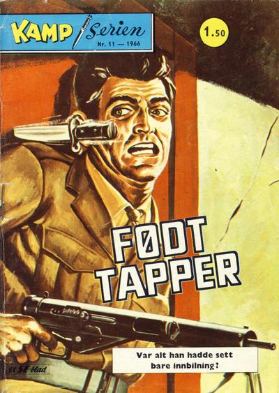 Cover for Kamp-serien (Serieforlaget / Se-Bladene / Stabenfeldt, 1964 series) #11/1966