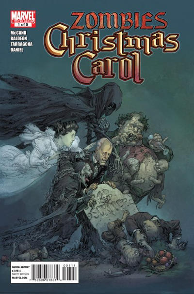 Cover for Marvel Zombies Christmas Carol (Marvel, 2011 series) #1