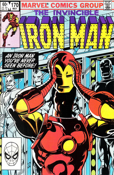 Cover for Iron Man (Marvel, 1968 series) #170 [Newsstand]