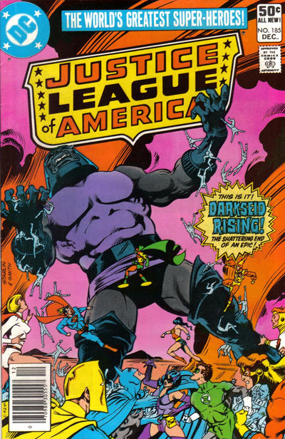 Cover for Justice League of America (DC, 1960 series) #185 [Newsstand]