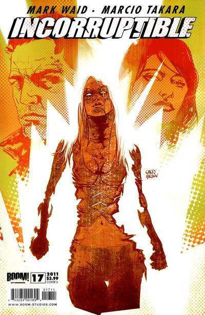 Cover for Incorruptible (Boom! Studios, 2009 series) #17