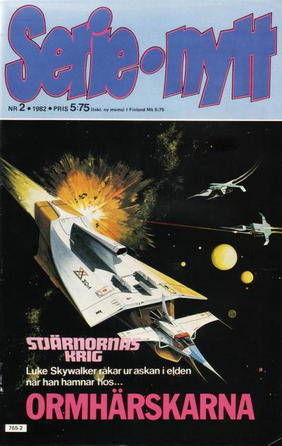 Cover for Serie-nytt [delas?] (Semic, 1970 series) #2/1982