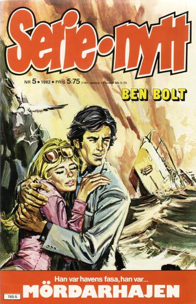 Cover for Serie-nytt [delas?] (Semic, 1970 series) #5/1982