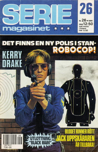 Cover for Seriemagasinet (Semic, 1970 series) #26/1990