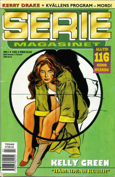 Cover for Seriemagasinet (Semic, 1970 series) #2/1995