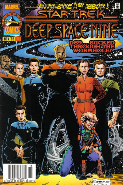 Cover for Star Trek: Deep Space Nine (Marvel, 1996 series) #1 [Direct Edition]