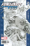 Cover Thumbnail for Ultimate Fantastic Four (2004 series) #13 [Sketch Cover]