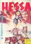 Cover for Hessa (De Vrijbuiter; De Schorpioen, 1971 series) #38
