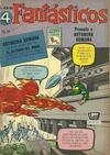 Cover for Los 4 Fantásticos (Editora de Periódicos La Prensa S.C.L., 1962 series) #25