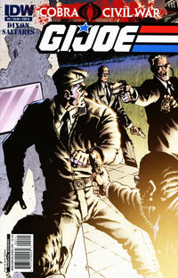 Cover Thumbnail for G.I. Joe (IDW, 2011 series) #2 [Cover B]