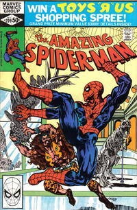 Cover Thumbnail for The Amazing Spider-Man (Marvel, 1963 series) #209 [Direct Edition]