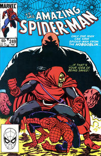 Cover Thumbnail for The Amazing Spider-Man (Marvel, 1963 series) #249 [Direct Edition]