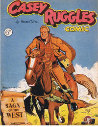 Cover Thumbnail for Casey Ruggles Western Comic (Donald F. Peters, 1951 series) #1