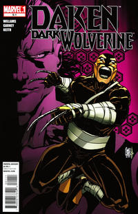 Cover Thumbnail for Daken: Dark Wolverine (Marvel, 2010 series) #9.1