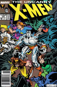 Cover Thumbnail for The Uncanny X-Men (Marvel, 1981 series) #235 [Newsstand]