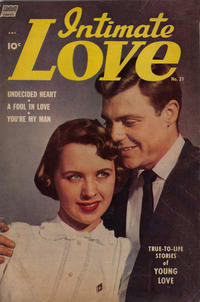 Cover Thumbnail for Intimate Love (Pines, 1950 series) #21