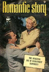 Cover Thumbnail for Romantic Story (Fawcett, 1949 series) #10