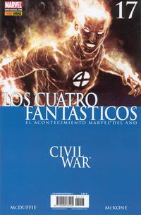 Cover Thumbnail for Los 4 Fantásticos (Panini España, 2006 series) #17