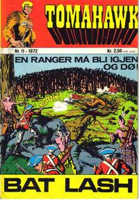 Cover Thumbnail for Tomahawk (Illustrerte Klassikere / Williams Forlag, 1969 series) #11/1972