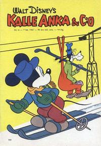 Cover Thumbnail for Kalle Anka & C:o (Hemmets Journal, 1957 series) #6/1961