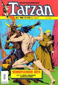 Cover Thumbnail for Tarzan (Bladkompaniet / Schibsted, 1989 series) #3/1989