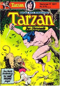 Cover Thumbnail for Tarzan (Atlantic Forlag, 1977 series) #17/1977