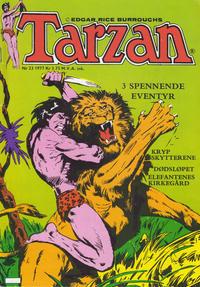 Cover Thumbnail for Tarzan (Atlantic Forlag, 1977 series) #23/1977