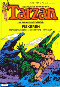 Cover Thumbnail for Tarzan (Atlantic Forlag, 1977 series) #10/1979