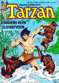 Cover Thumbnail for Tarzan (Atlantic Forlag, 1977 series) #22/1979