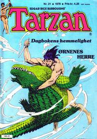 Cover Thumbnail for Tarzan (Atlantic Forlag, 1977 series) #21/1979