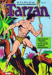 Cover Thumbnail for Tarzan (Atlantic Forlag, 1977 series) #19/1979