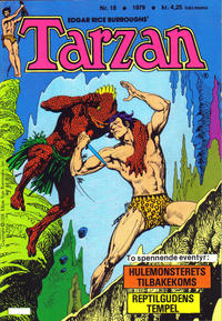 Cover Thumbnail for Tarzan (Atlantic Forlag, 1977 series) #18/1979