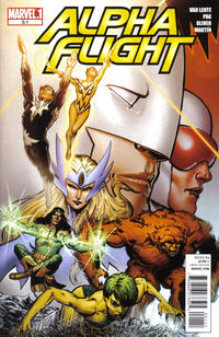 Cover Thumbnail for Alpha Flight (Marvel, 2011 series) #0.1
