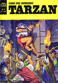 Cover Thumbnail for Tarzan [Jungelserien] (Illustrerte Klassikere / Williams Forlag, 1965 series) #31